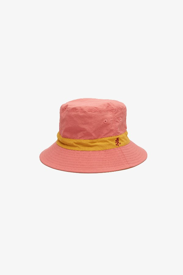 SHELL REVERSIBLE HAT PLUM x MUSTARD