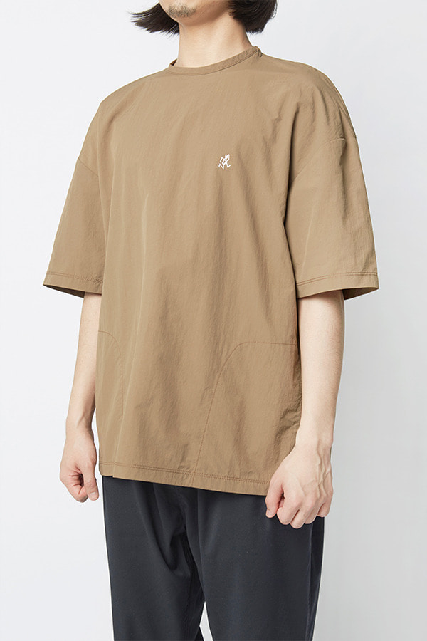 SHELL CAMP TEE TAN