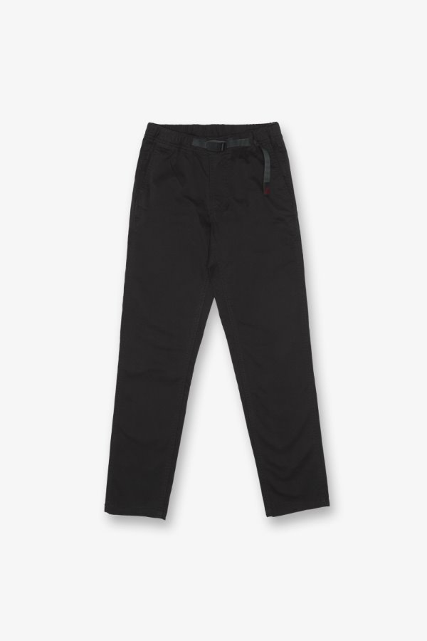 WS TAPERED PANTS BLACK