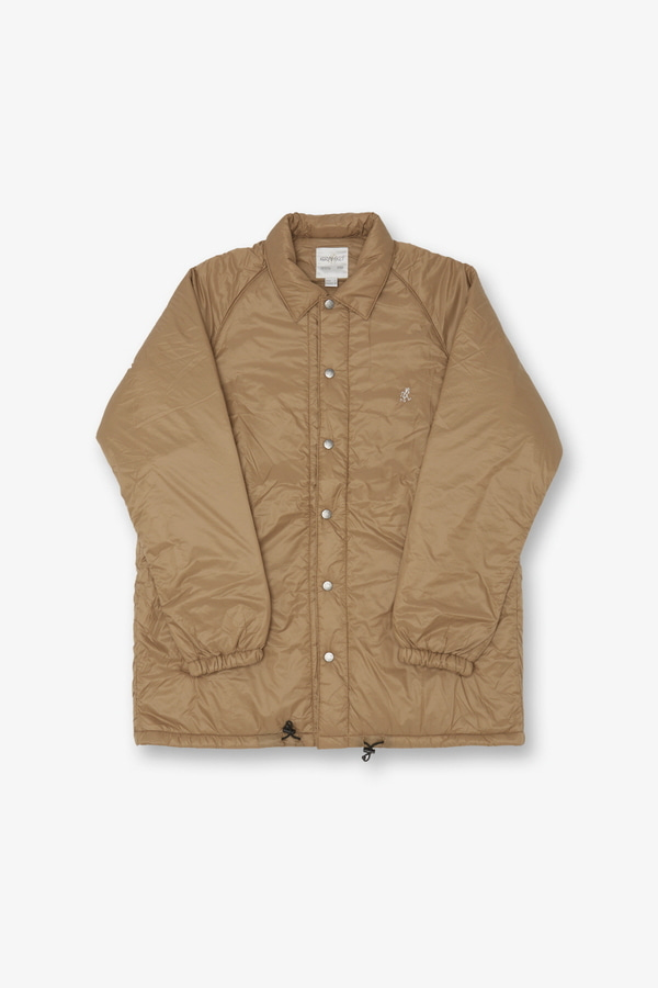PADDING COACHES JACKET CAMEL