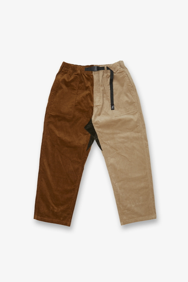 CORDUROY LOOSE TAPERED PANTS CRAZY