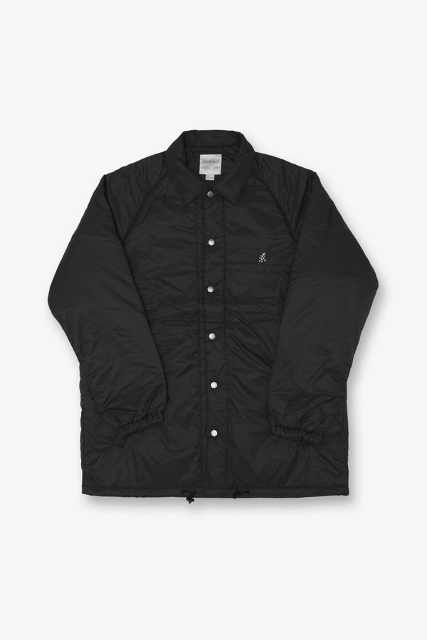 PADDING COACHES JACKET BLACK