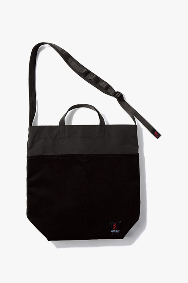 CORDUROY GRAMICCI SHOPPER BLACK