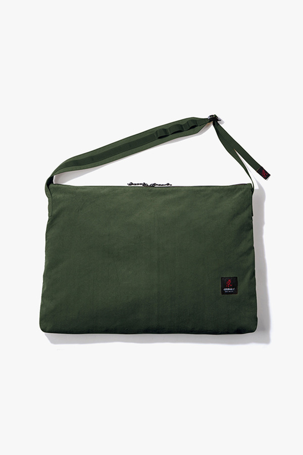 CORDUROY BIG SHOPPER OLIVE