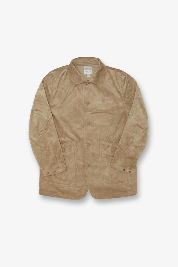 CORDUROY WORK JACKET BEIGE