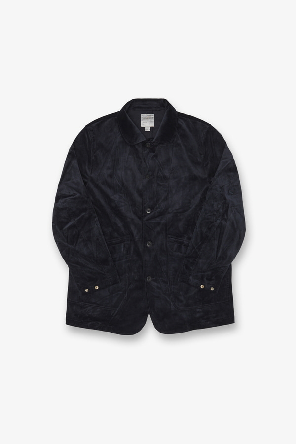 CORDUROY WORK JACKET DOUBLE NAVY