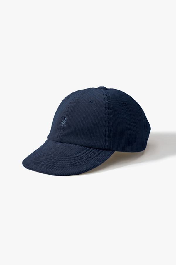 CORDUROY UMPIRE CAP DOUBLE NAVY