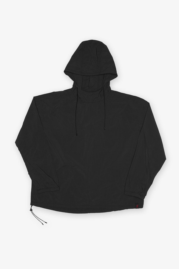 PACKABLE ANORAK PARKA BLACK