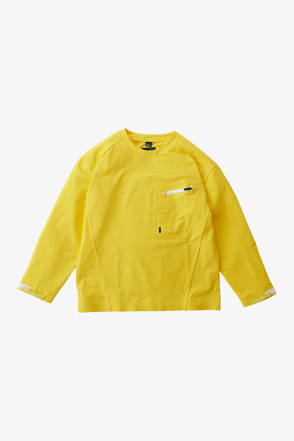 STORMFLEECE LOGAN TEE YELLOW