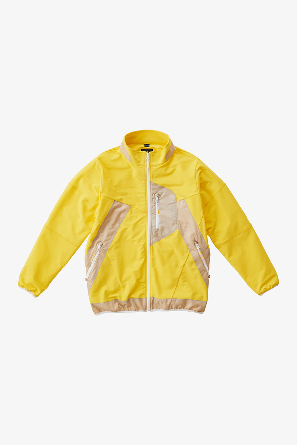 STORMFLEECE ZION JACKET YELLOW