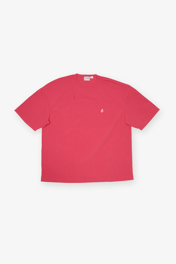 SHELL CAMP TEE RASPBERRY