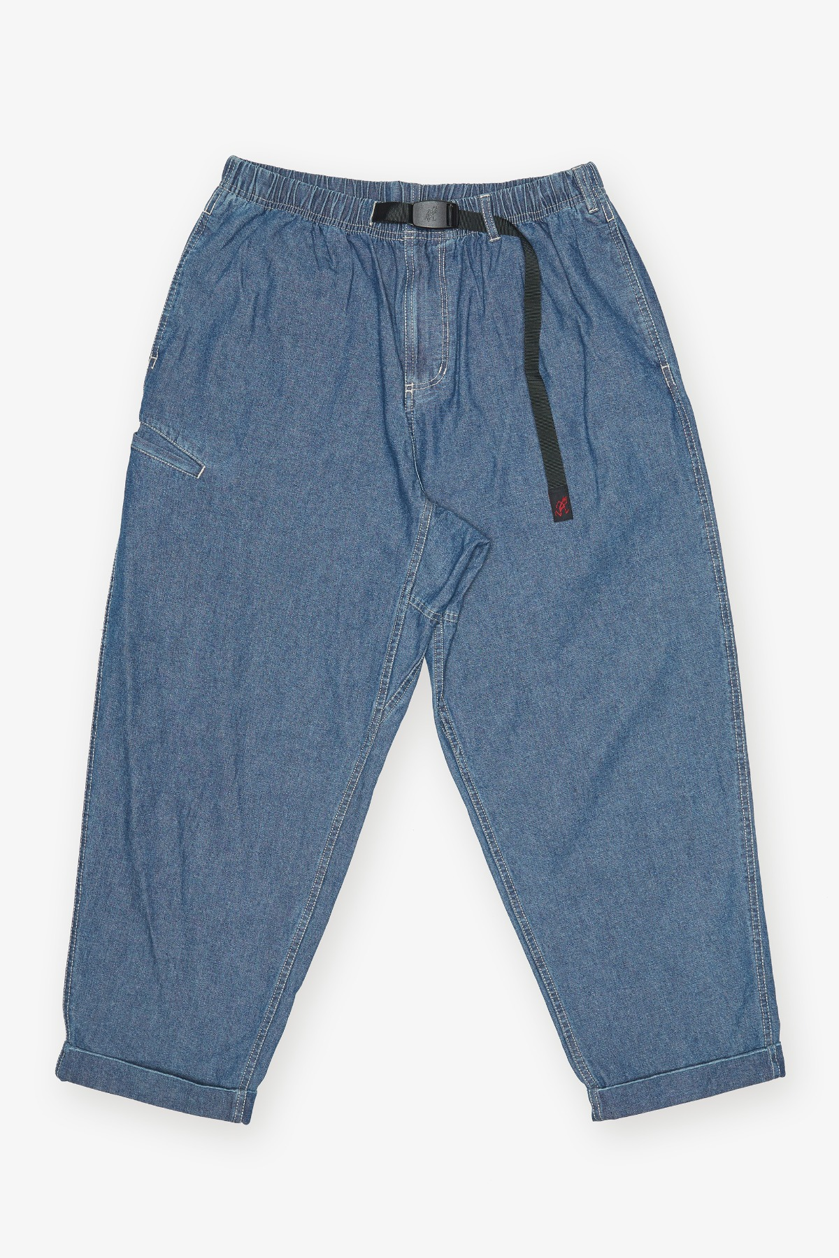 LIGHT DENIM RESORT PANTS MEDIUM USED