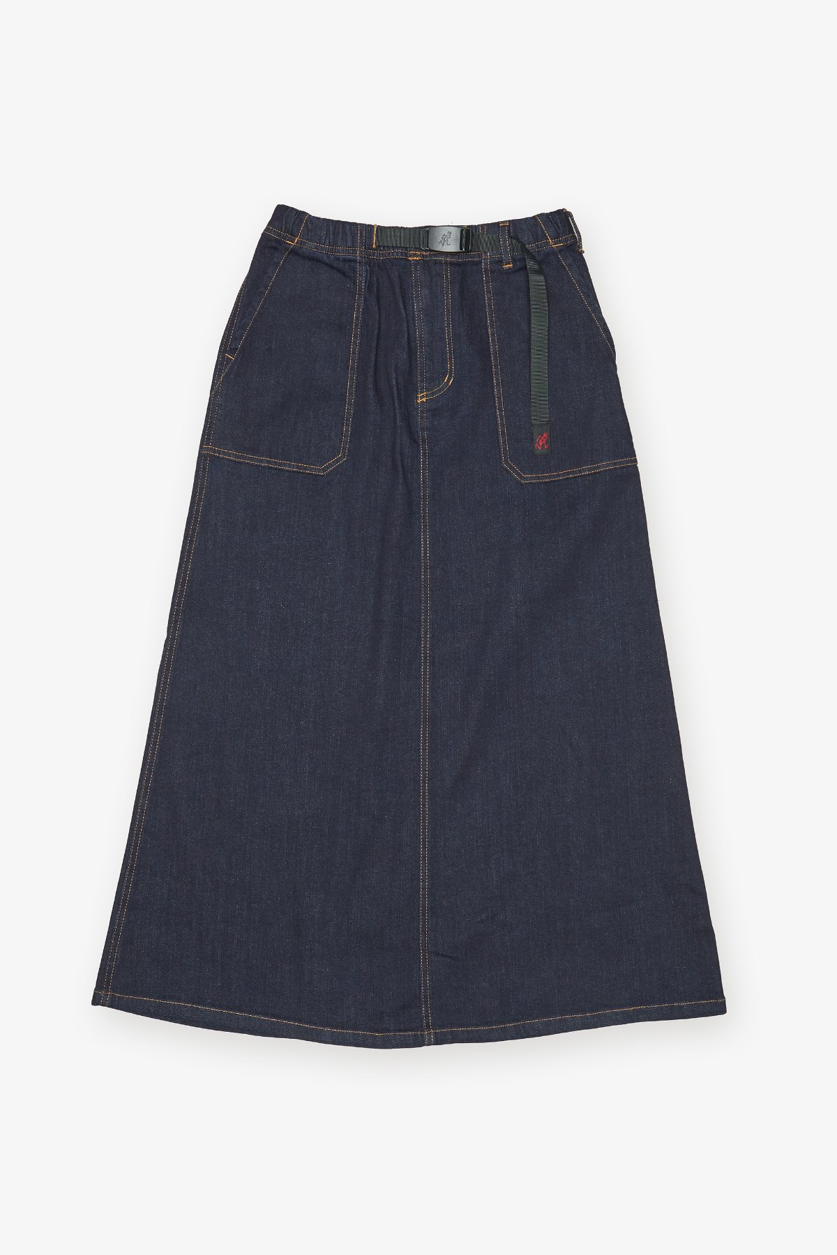 DENIM BAKER SKIRT ONE WASH