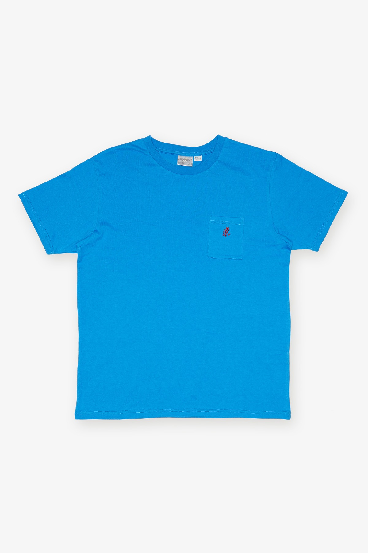 ONE POINT TEE BLUE