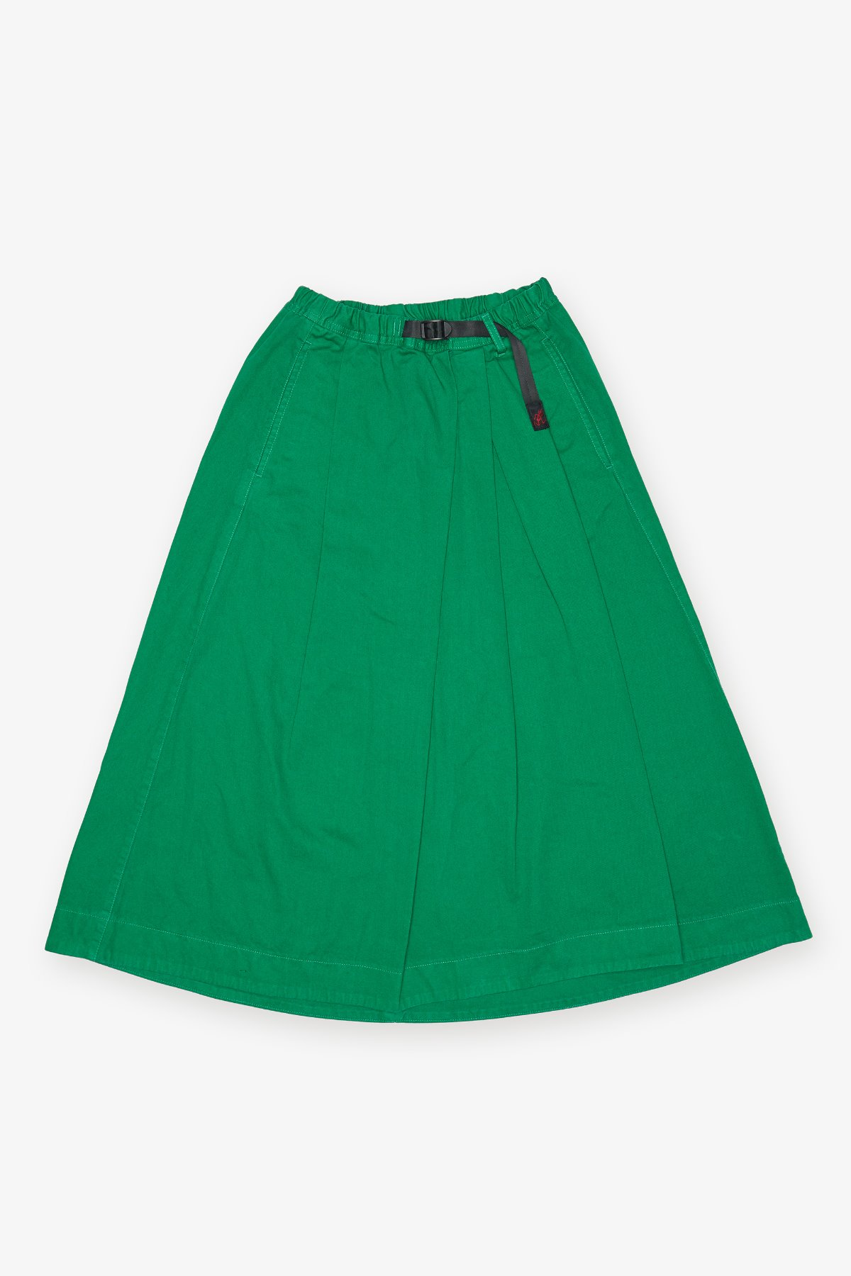 TALE CUT SKIRT MIDDLE GREEN