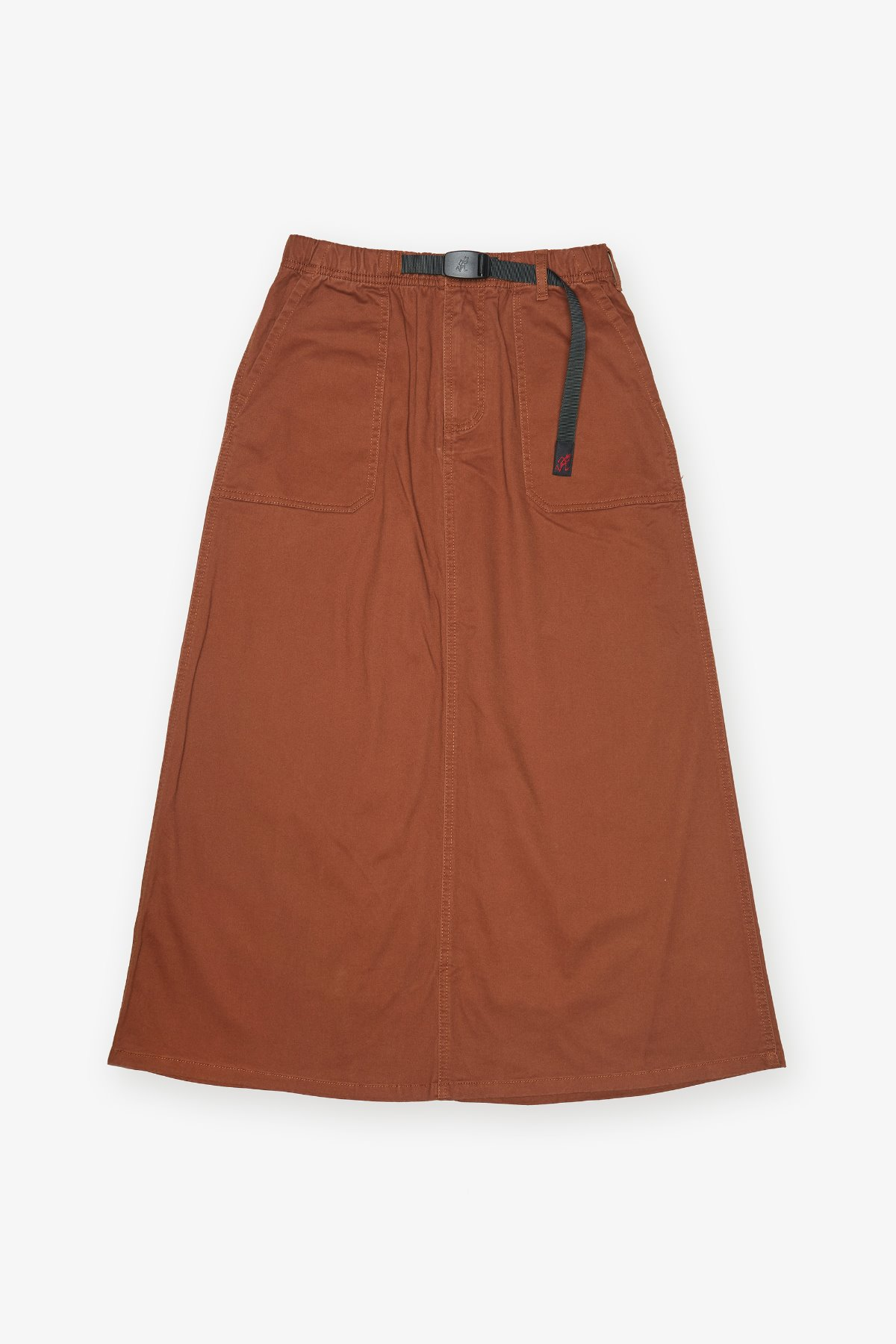BAKER SKIRT BROWN