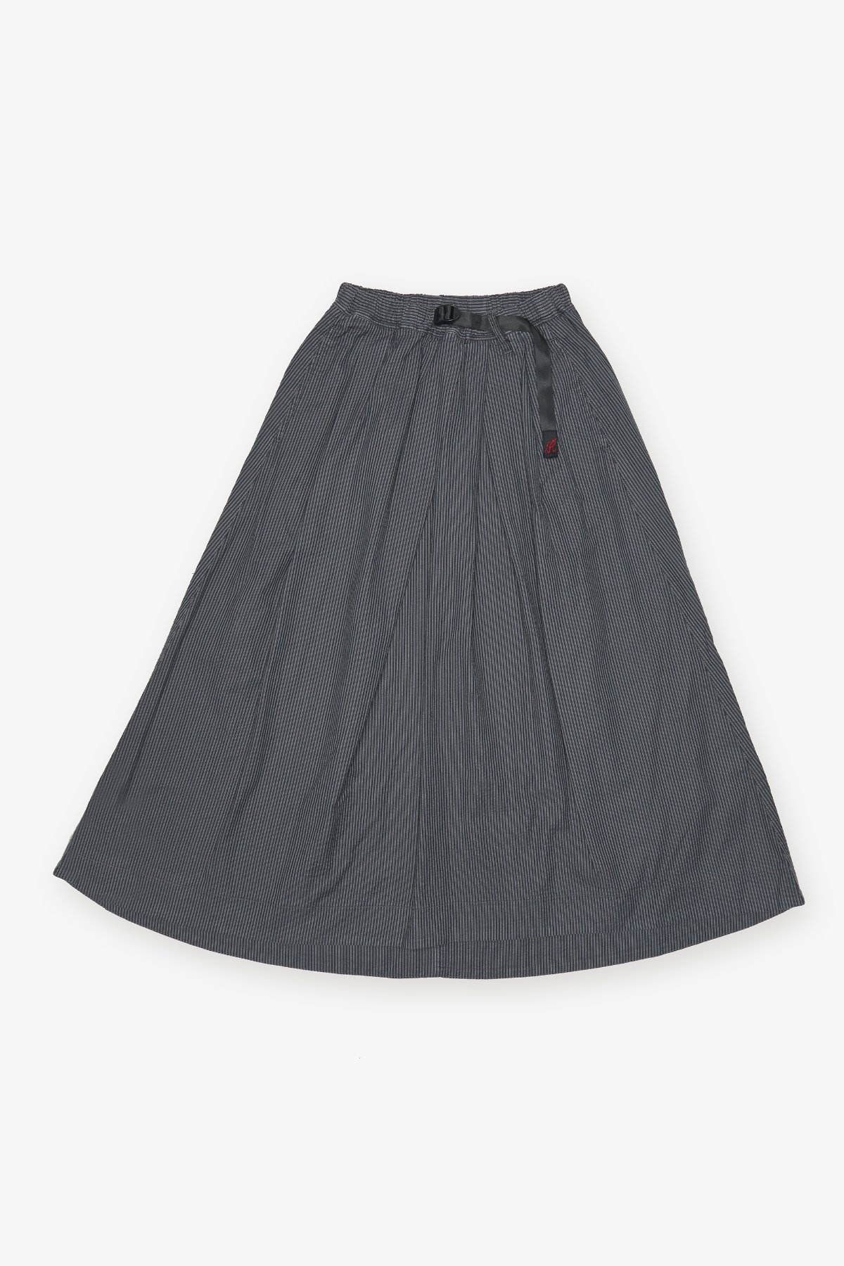 SUCKER TALE CUT SKIRT CHARCOAL