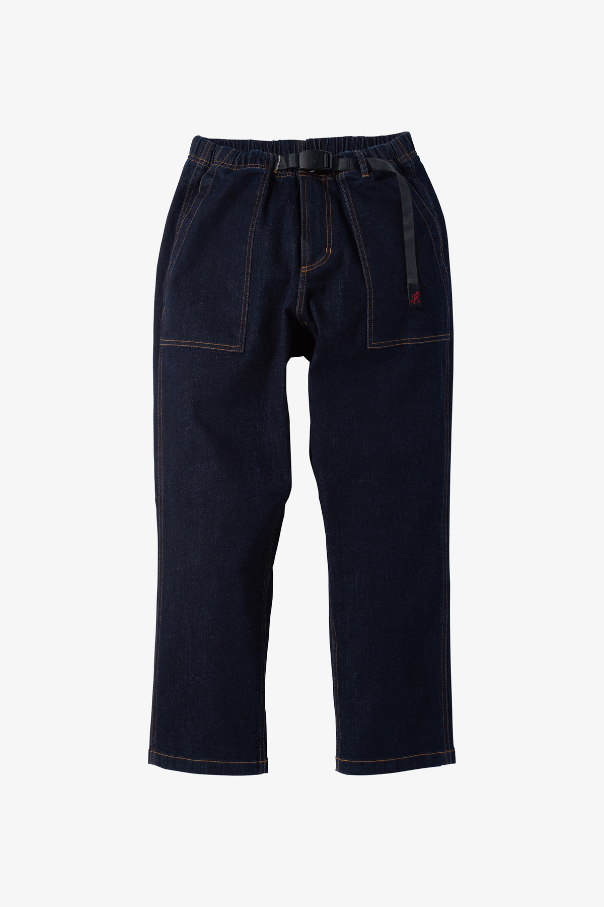 DENIM LOOSE TAPERED PANTS ONE WASH
