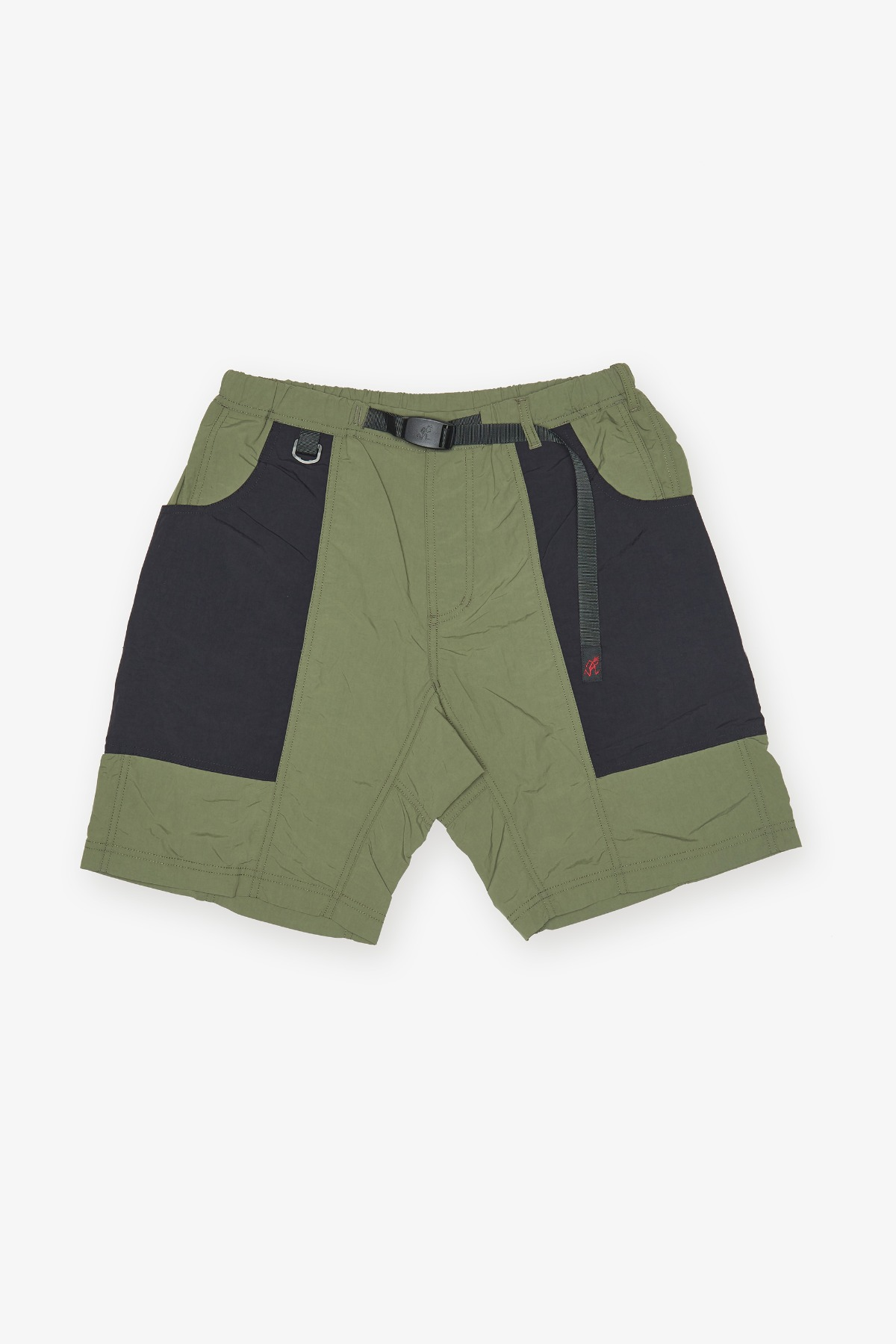 SHELL GEAR SHORTS OLIVE x BLACK