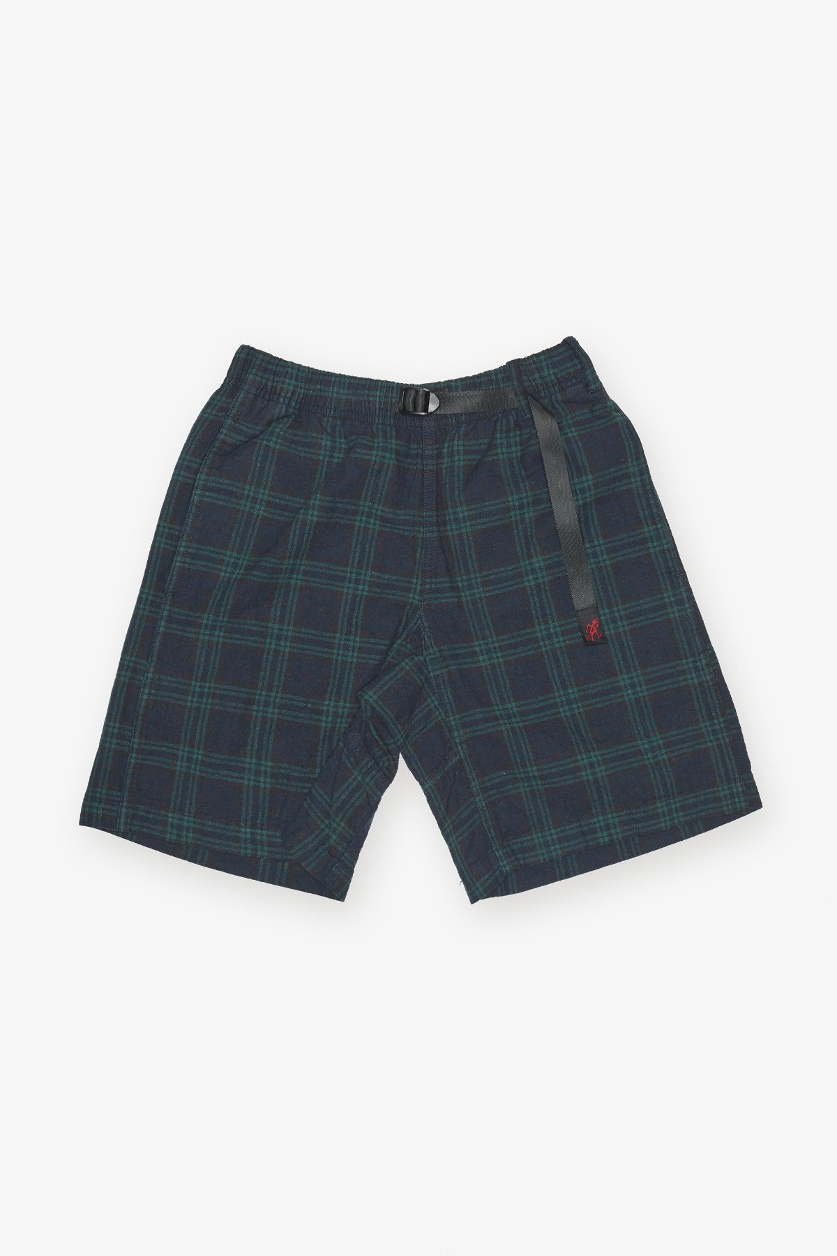 LINEN COTTON WS G-SHORTS BLACK WATCH