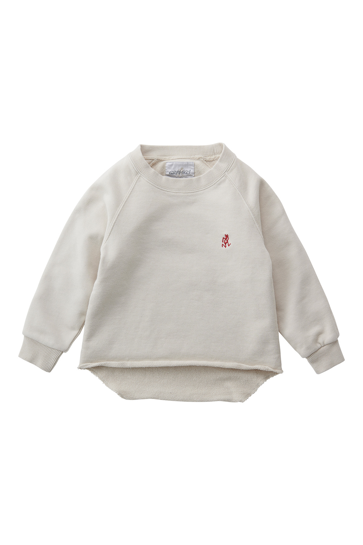 KIDS TALECUT SWEAT SAND BEIGE