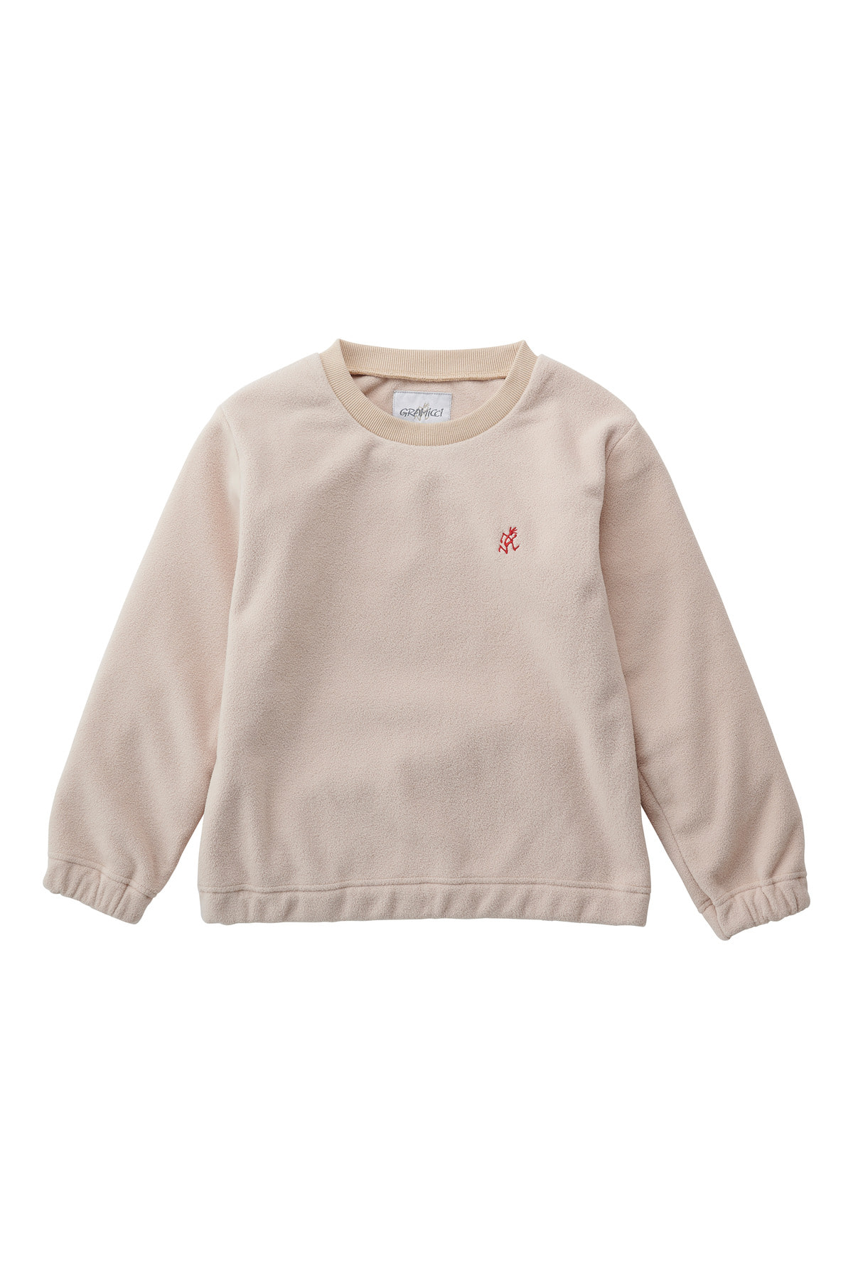 KIDS FLEECE CREW NECK IVORY