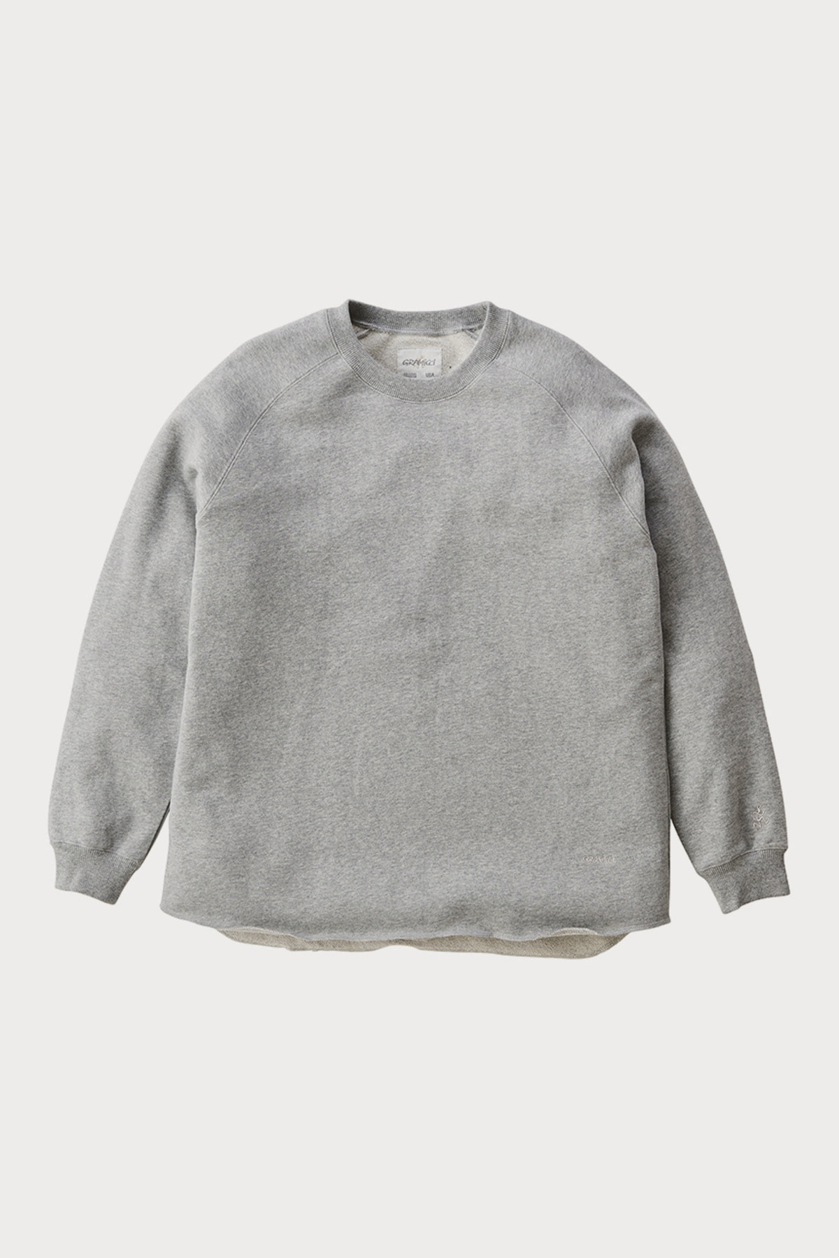TALECUT SWEAT HEATHER GREY