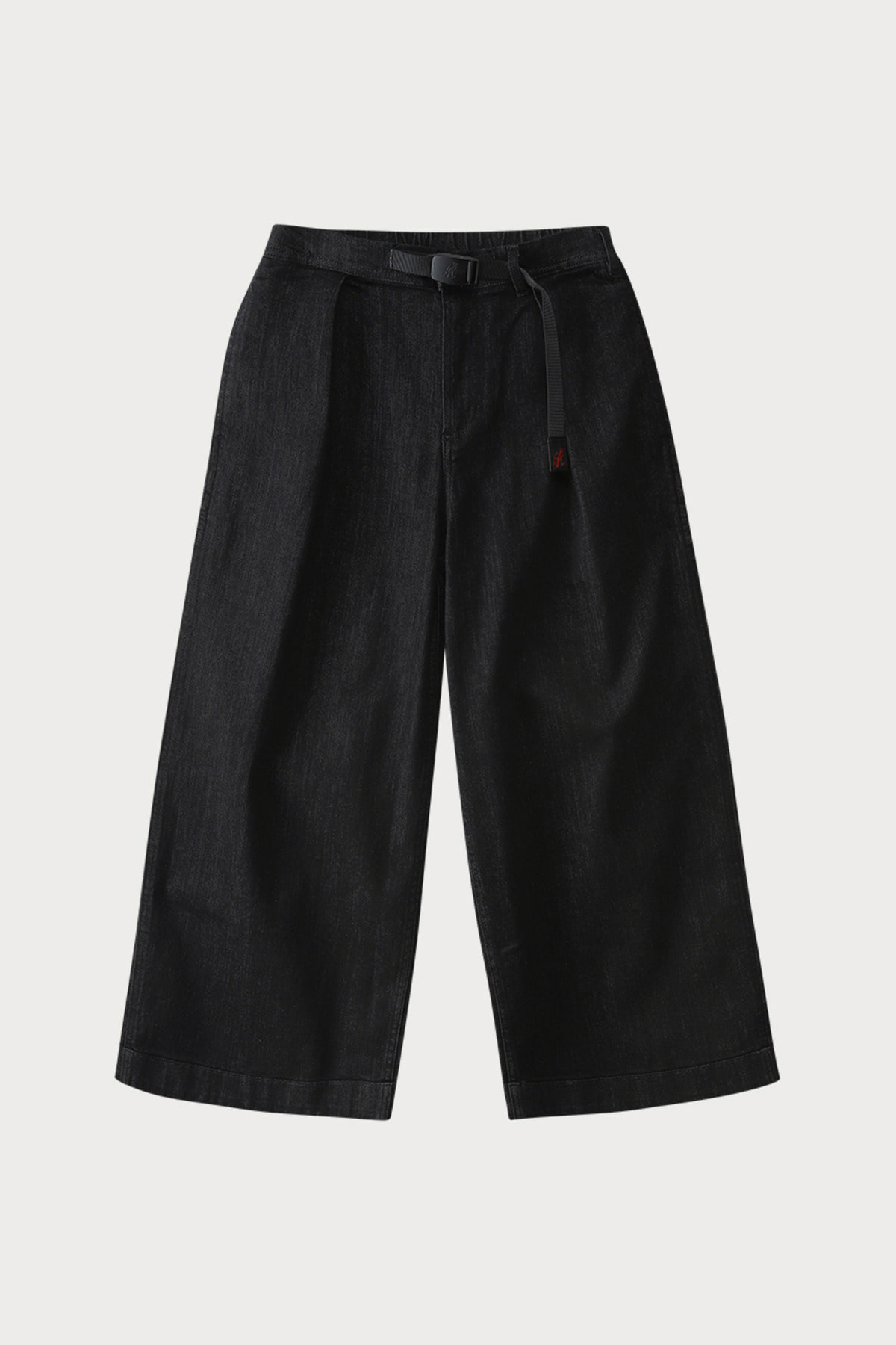 DENIM BAGGY PANTS BLACK ONE WASH