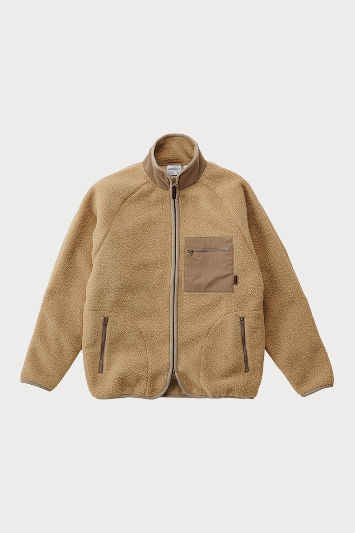BOA FLEECE JACKET BEIGE