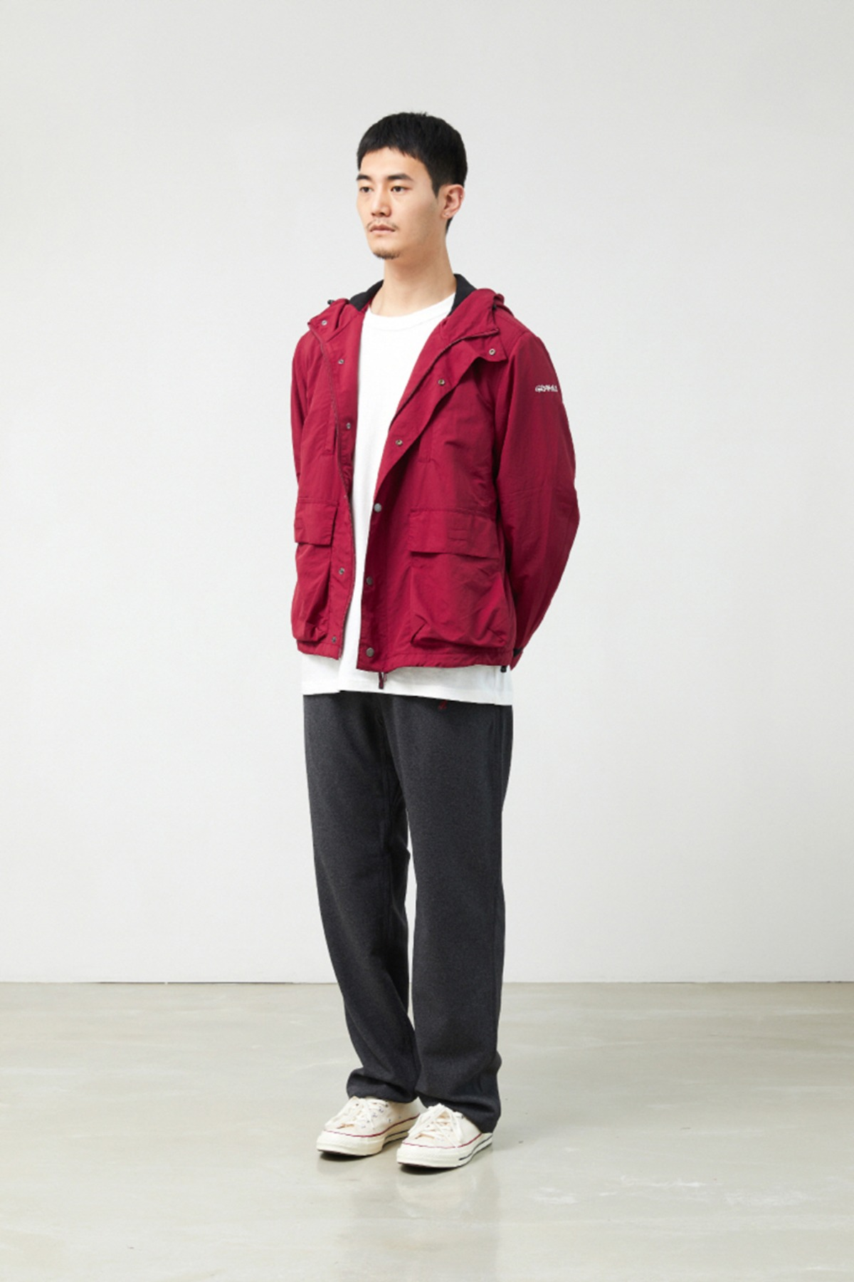 SHELL MOUNTAIN PARKA BURGANDY