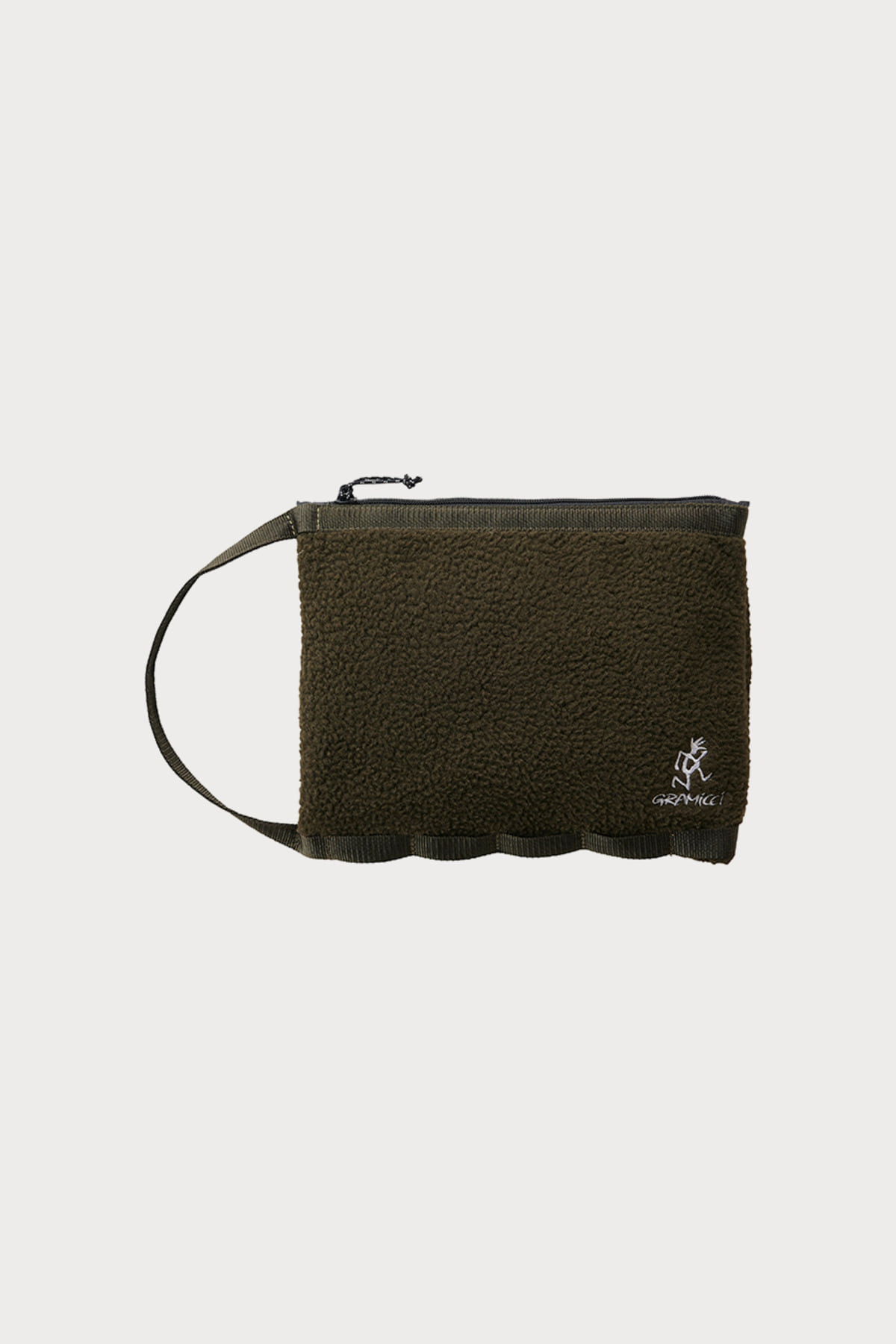 BOA FLEECE HANDLE POUCH OLIVE