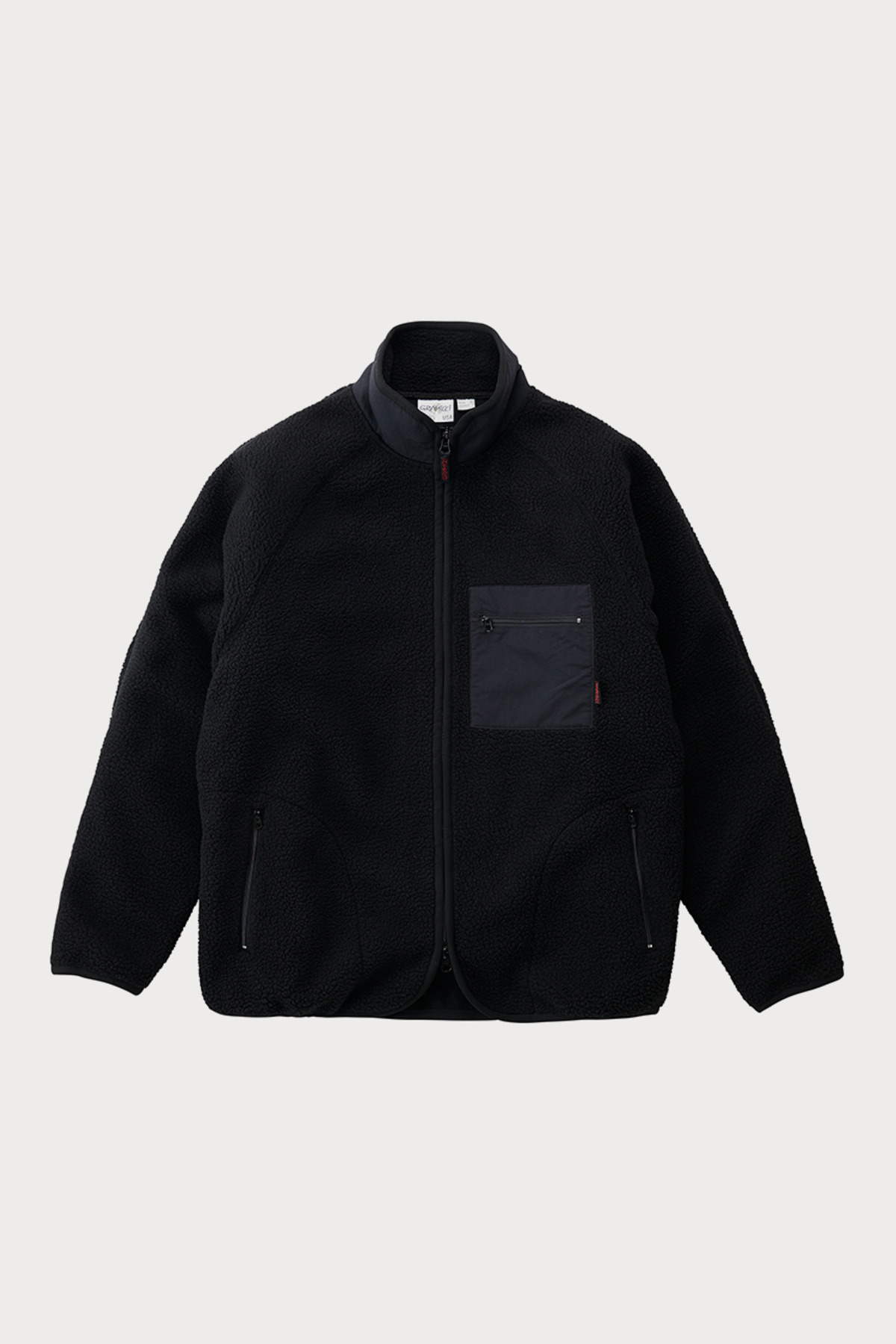 BOA FLEECE JACKET BLACK