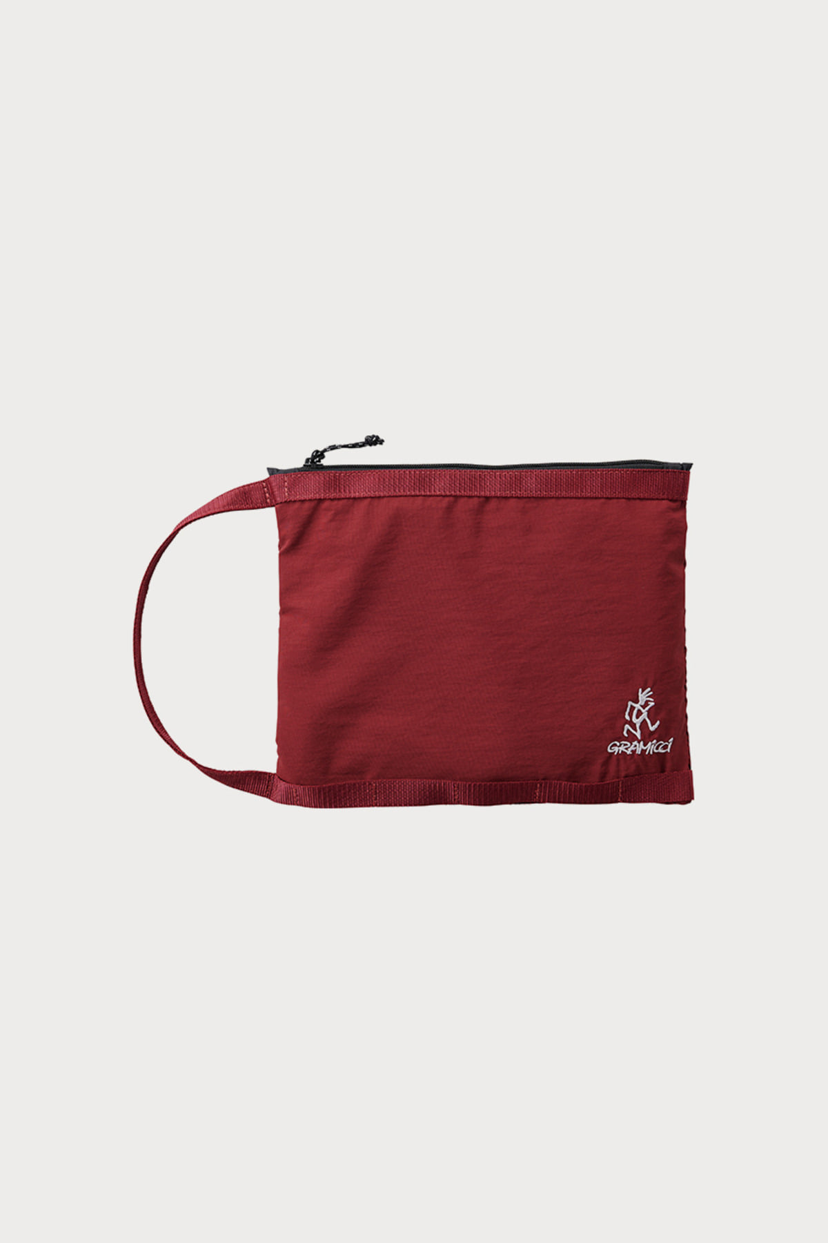 HANDLE POUCH BURGANDY
