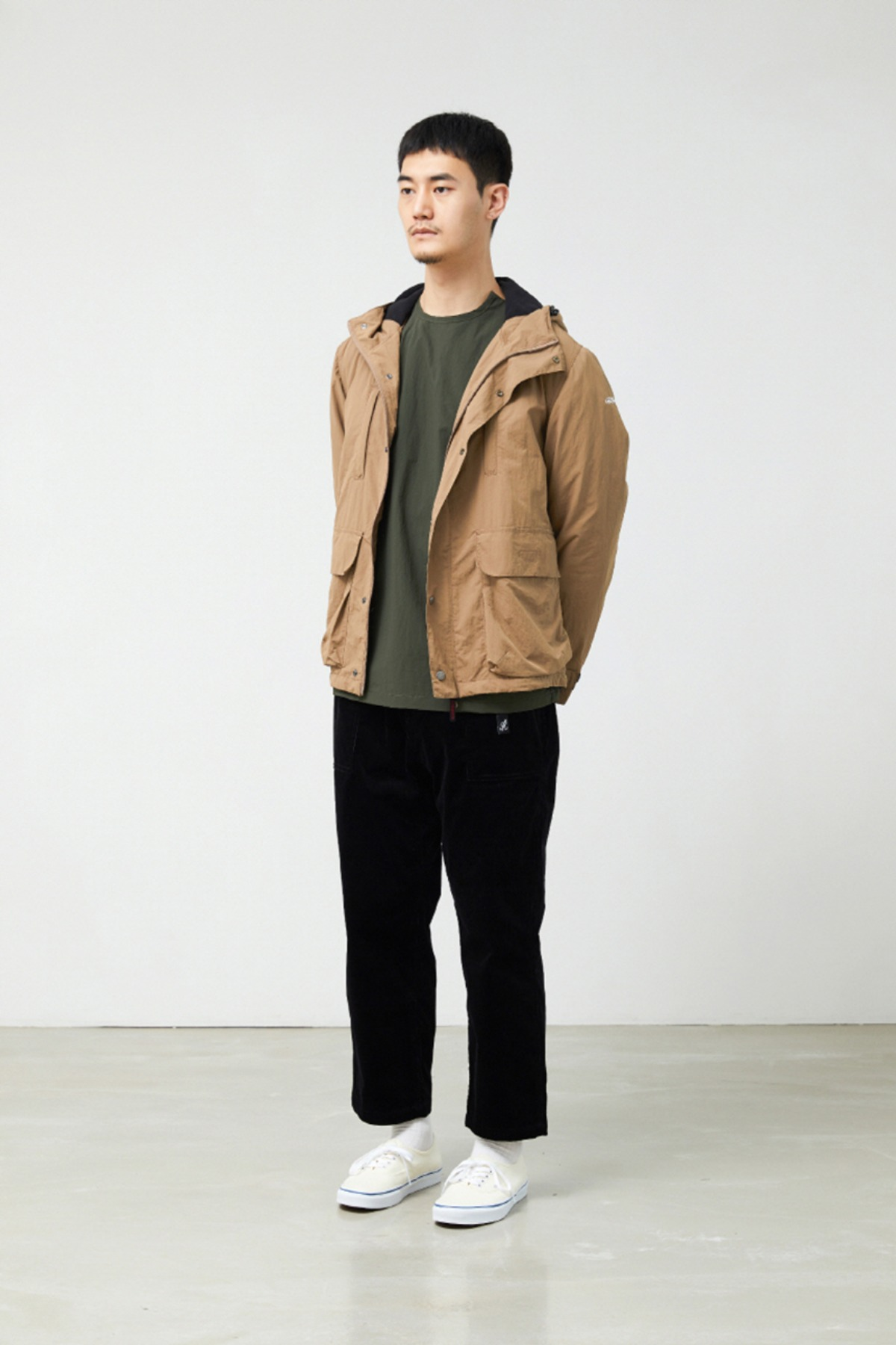 SHELL MOUNTAIN PARKA TAN