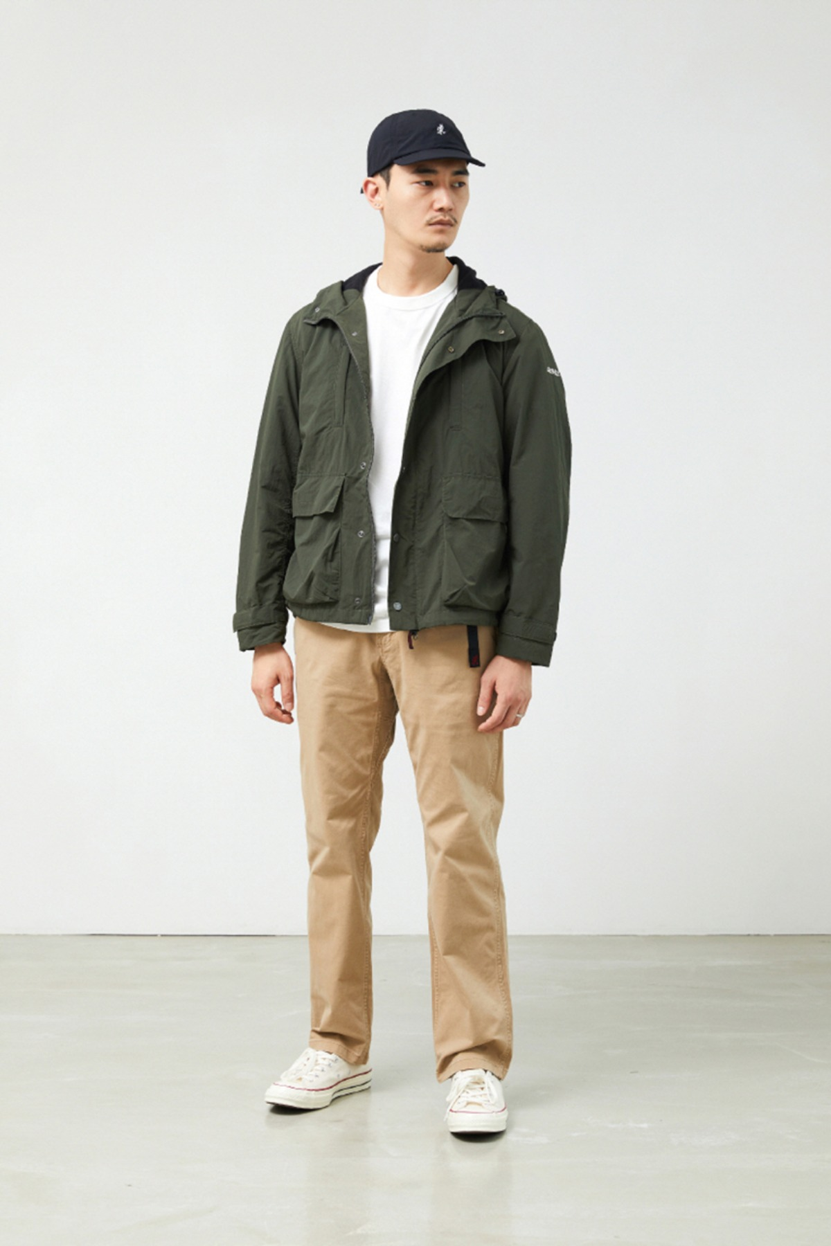 SHELL MOUNTAIN PARKA DEEP OLIVE