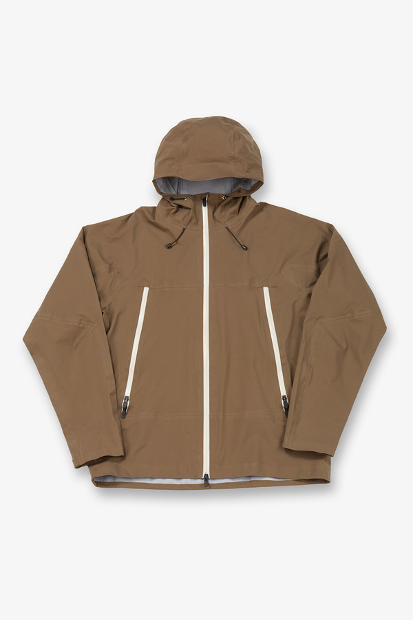 3 LAYER ACTIVE JACKET TAUPE