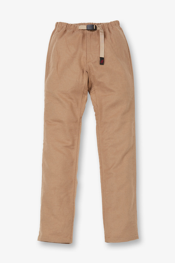 WOOL NARROW PANTS CHINO