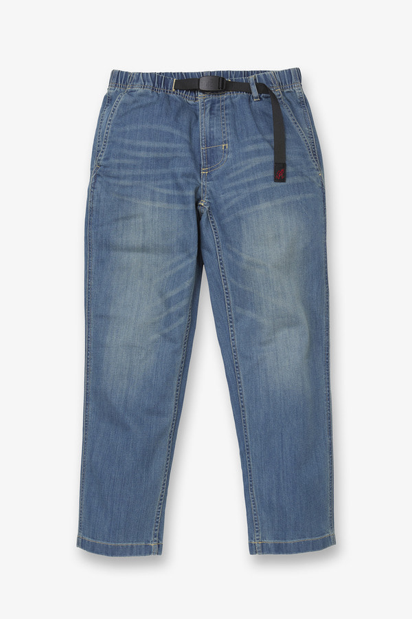 W'S DENIM TAPERED CROPPED PANTS MEDIUM USED