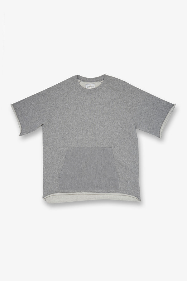S/S TALECUT SWEAT HEATHER GREY