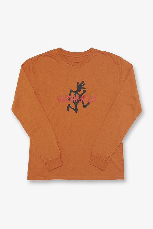 LOGO L/S TEE MAPLE