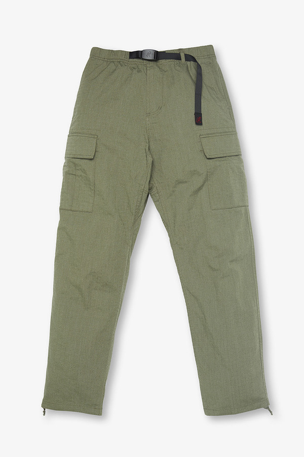 BIG RIPSTOP CARGO PANTS MOSS