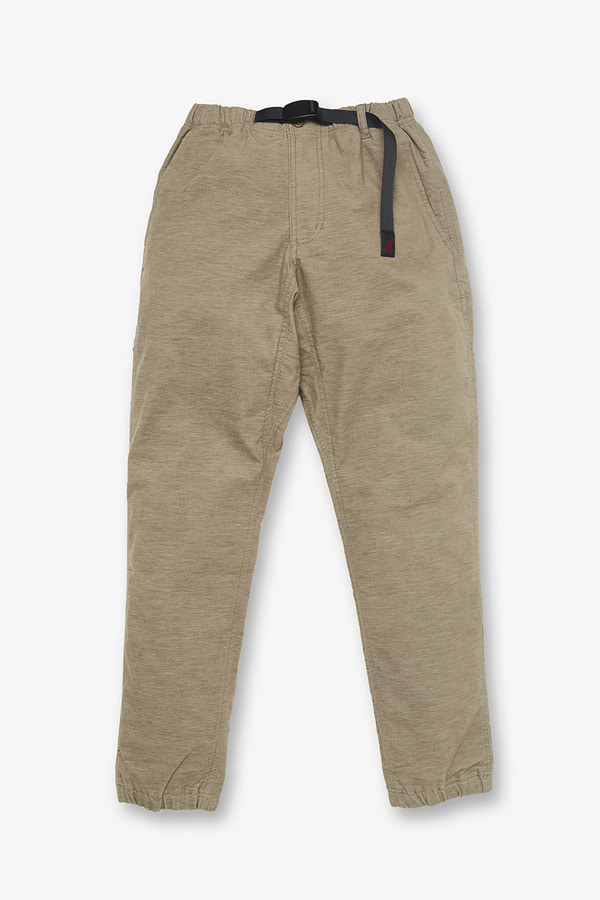 AMERICAN VELVETEEN JOGGER PANTS BEIGE HEATHER