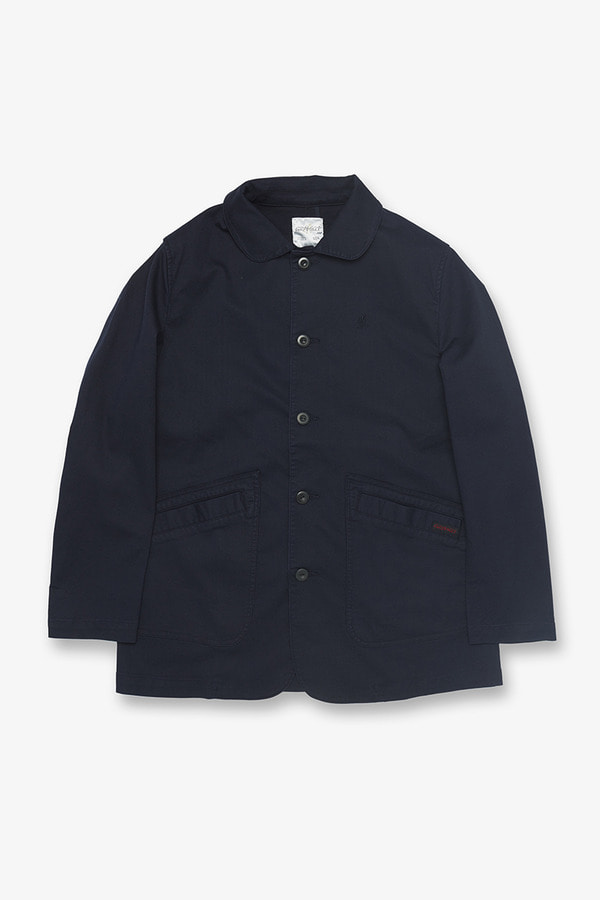 JEAN CORD WORK JACKET DOUBLE NAVY