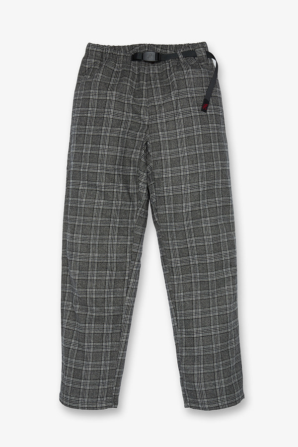 WOOL BLEND GRAMICCI PANTS GLEN CHECK
