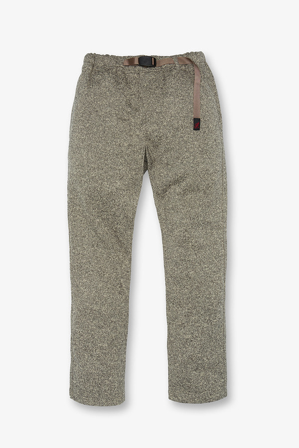 BONDING KNIT FLEECE NN-PANTS JUST CUT OATMEAL x TAUPE