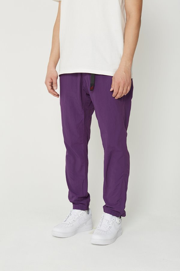 SHELL JOGGER PANTS PURPLE