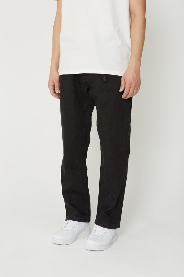 DENIM NN-PANTS JUST CUT BLACK ONE WASH