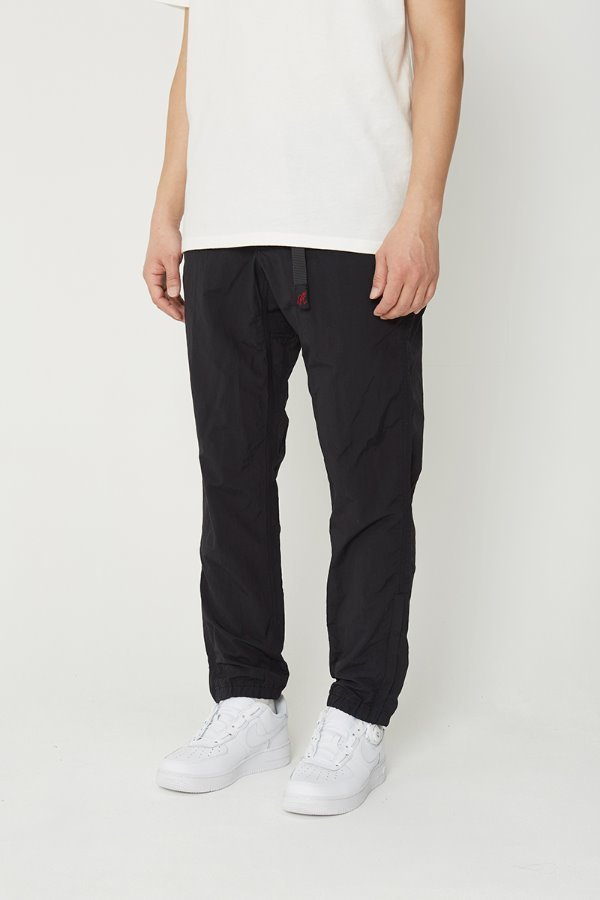 SHELL JOGGER PANTS BLACK