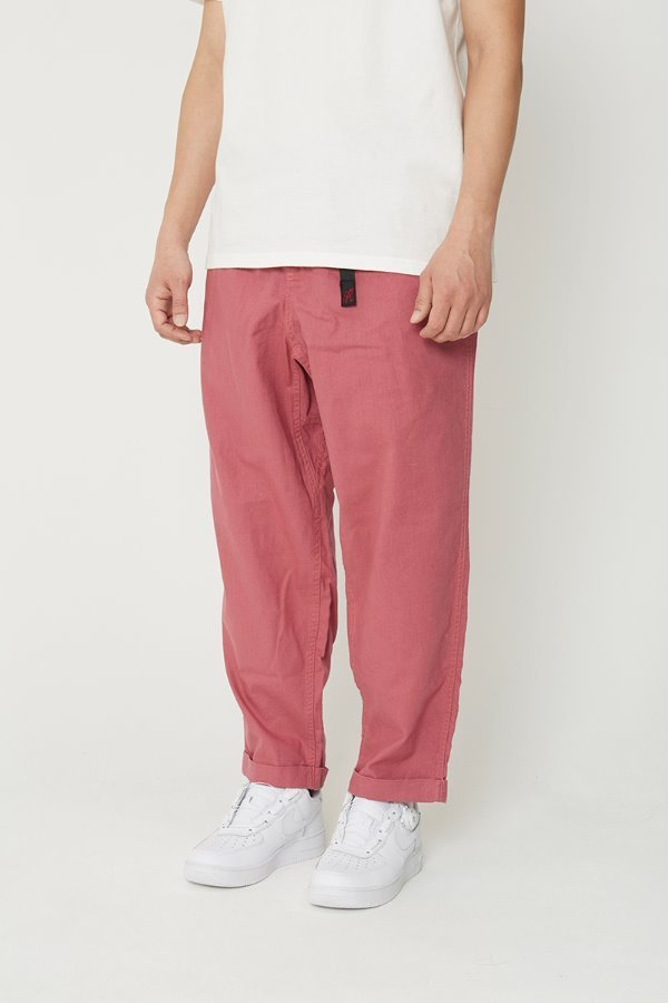LINEN COTTON RESORT PANTS PLUM