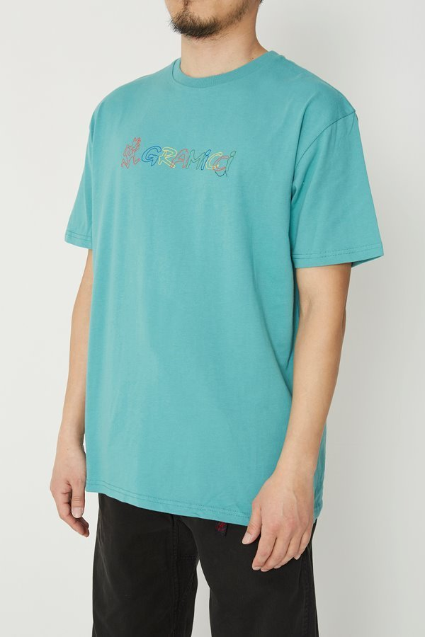 RAINBOW LOGO TEE MINT